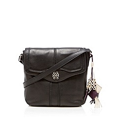 Bailey & Quinn - Black 'Peony' cross body bag