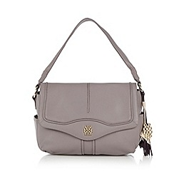 Bailey & Quinn - Lilac 'Peony' leather shoulder bag