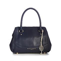 Bailey & Quinn - Navy 'Ammi' leather grab bag