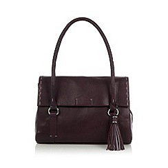Bailey & Quinn - Purple 'Helenium' leather shoulder bag
