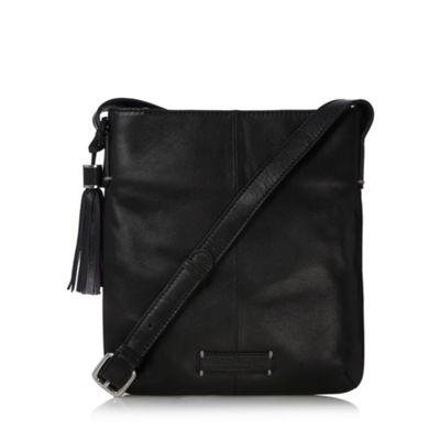 Bailey & Quinn Black ´Elenium´ leather cross body bag - . -