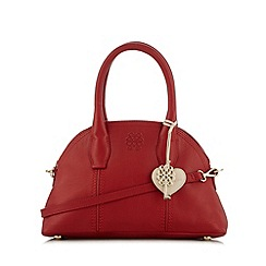 Bailey & Quinn - Red 'Astor' leather dome bag