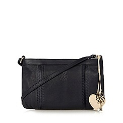 Bailey & Quinn - Navy 'Astor' leather cross body bag