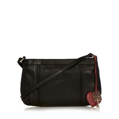 Bailey & Quinn Black ´Astor´ leather cross body bag - . -