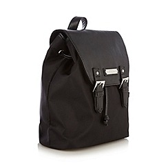 Bailey & Quinn - Black nylon panel backpack