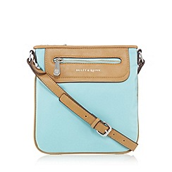 Bailey & Quinn - Turquoise zip cross body bag