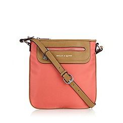 Bailey & Quinn - Coral zip cross body bag