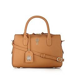 Bailey & Quinn - Camel leather bowler bag