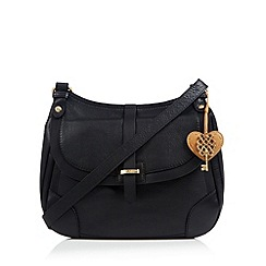 Bailey & Quinn - Black 'Primrose' leather cross body bag
