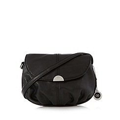 The Collection - Black pouch cross body bag