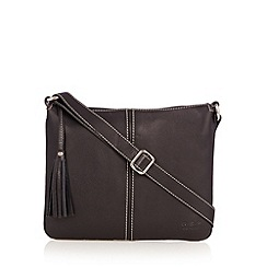 O.S.P OSPREY - Black leather cross body bag