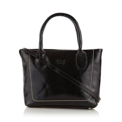 O.S.P OSPREY Black leather small grab bag - One Size.  Size - One Size