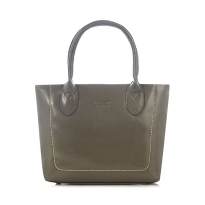 O.S.P OSPREY Grey leather small grab bag - One Size.  Size - One Size