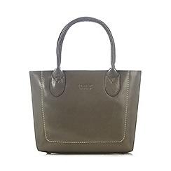 O.S.P OSPREY - Grey leather small grab bag