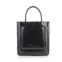 O.S.P OSPREY - Large black stitched shopper bag