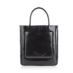 O.S.P OSPREY - Large black stitched shopper bag