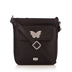 O.S.P OSPREY - Black butterfly lock cross body bag