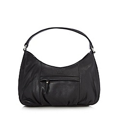 O.S.P OSPREY - Black leather shoulder bag