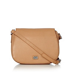 O.S.P OSPREY - Tan leather cross body bag