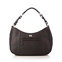 O.S.P OSPREY - Black leather small shoulder bag