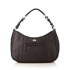 O.S.P OSPREY - Black leather small shoulder bag