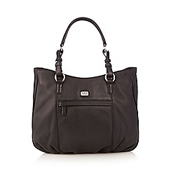 O.S.P OSPREY - Black large tote bag