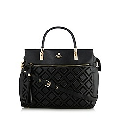 Sacha - Black applique diamond grab bag