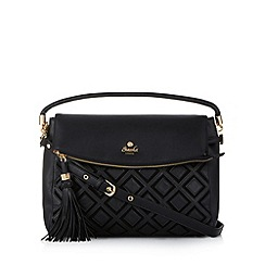Sacha - Black diamond flap over grab bag