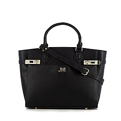 Star by Julien Macdonald - Designer black double twist lock tote bag