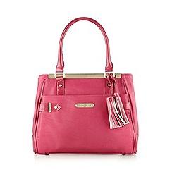 J by Jasper Conran - Designer pink tassel tote bag