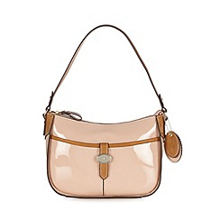 J by Jasper Conran - Designer light pink tab underarm shoulder bag