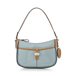 J by Jasper Conran - Designer light blue front tab underarm bag