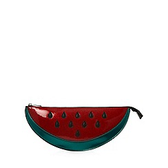 H! by Henry Holland - Designer red watermelon clutch bag