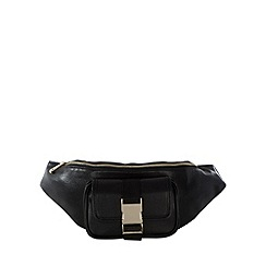H! by Henry Holland - Designer black buckle bumbag