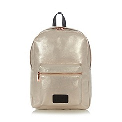 H! by Henry Holland - Designer natural metallic backpack