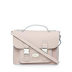 H! by Henry Holland - Designer pink contrast trim satchel