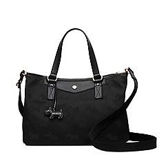 H! by Henry Holland - Designer black quilted holdall bag