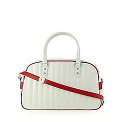 H! by Henry Holland - Designer white quilted sport bag