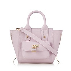 Red Herring - Lilac padlock zip grab bag