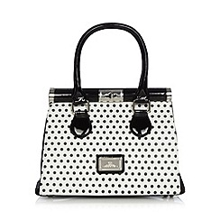 Red Herring - White spotty framed top grab bag