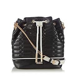 Faith - Black quilted duffle bag