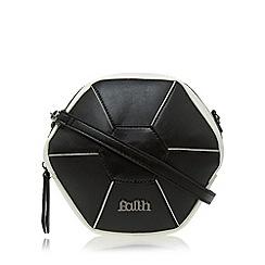 Faith - Black hexagon cross body bag