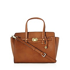 Fiorelli - Tan belted front grab bag