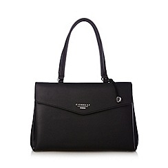 Fiorelli - Black zipped three section tote bag