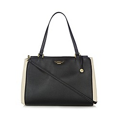 Fiorelli - Black monochrome four compartment shoulder bag