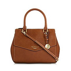 Fiorelli - Tan flap over mini grab bag