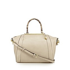 Fiorelli - Off white snakeskin handle grab bag
