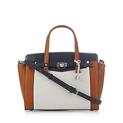 Fiorelli - Tan colour block belted front grab bag