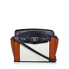 Fiorelli - Tan colour block belted cross body bag