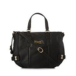 Nica - Black bow detail large grab bag